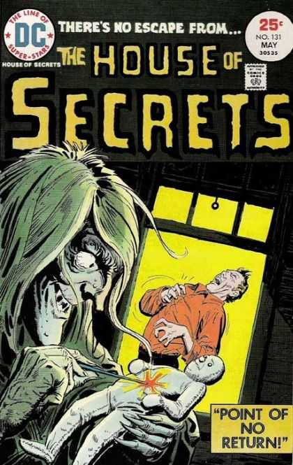 House of Secrets 131 - Needle - Voodoo Man - Voodoo Doll - Window - Man Aching - Luis Dominguez