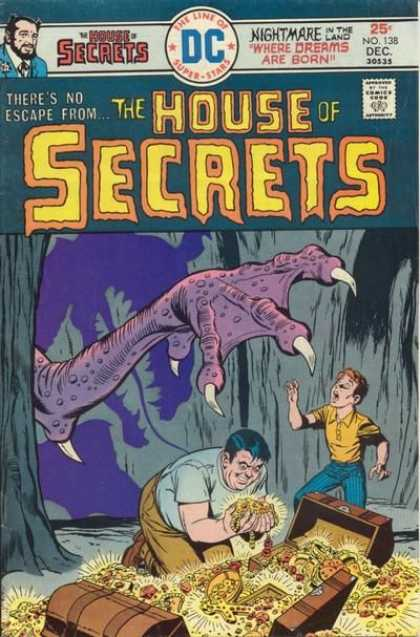 House of Secrets 138 - Dc - Talons - Boy - Theres No Escape - December
