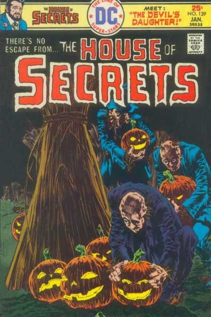 House of Secrets 139 - The Devils Daughter - Theres No Escape From - Approved By The Comics Code Authority - Dc - Superstars - Bernie Wrightson