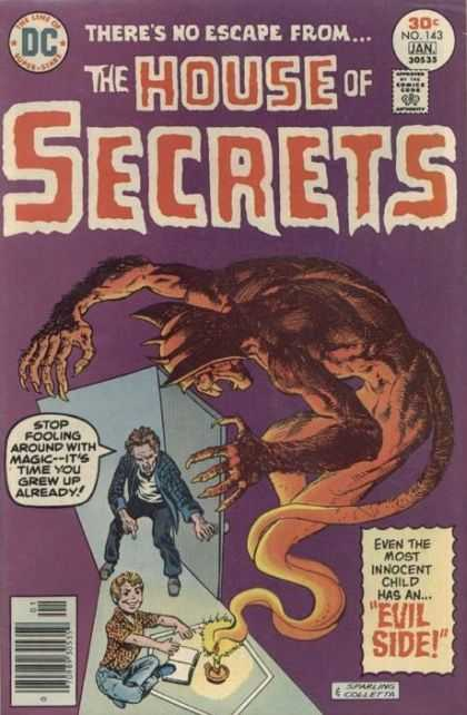 House of Secrets 143 - House Of Secrets - Magic - Evil - Monsters - Demons