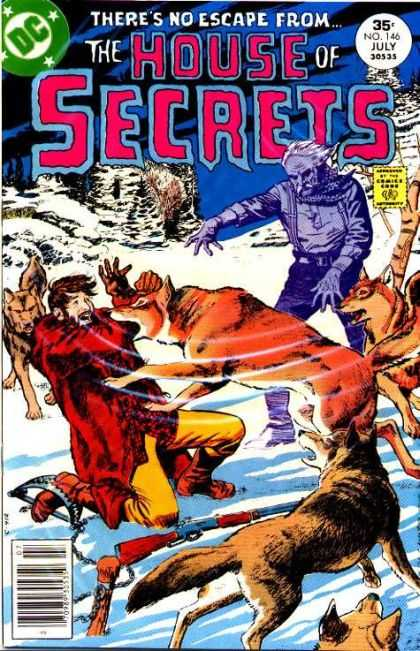 House of Secrets 146 - Wolves - Gray Morrow
