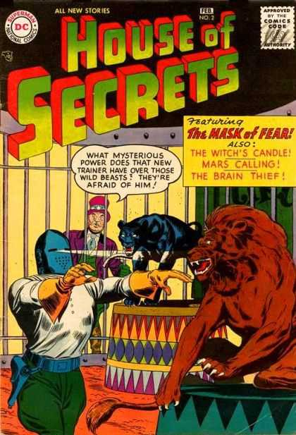 House of Secrets 2 - House Of Secrets - The Mask Of Fear - Lion - Trainer - Superman