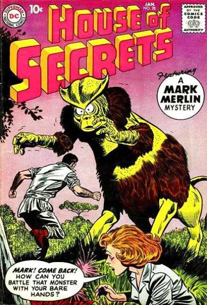 House of Secrets 28 - Horror - Suspense - Devil - Demon - Ghost - Sheldon Moldoff