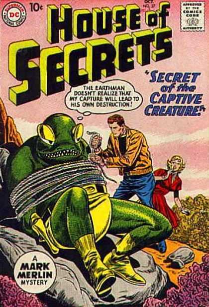 House of Secrets 37 - Alien - Creature - Sheldon Moldoff