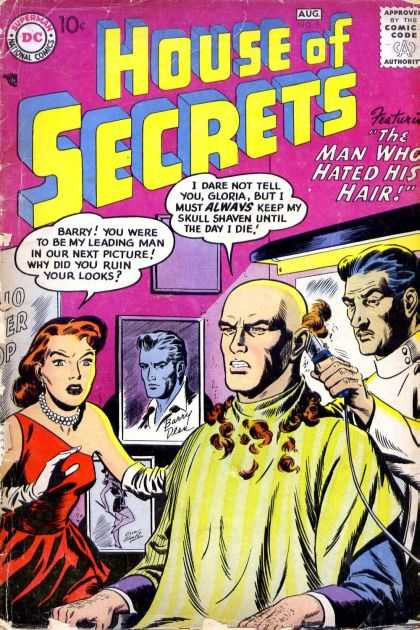 House of Secrets 5 - Superman - Man - Approved By The Comics Code - Hair - Woman