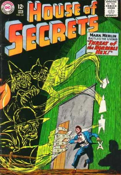 House of Secrets 64 - Hex - Barn - Ghosts - Dc - Horror