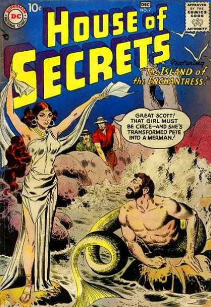 House of Secrets 7 - Circe - The Island Of The Enchantress - Merman - Odyssey - Pith Helmet