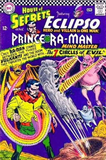 House of Secrets 77 - Eclipso - Prince Ra-man - 7 Circles Of Evil - Vulkanti - Underwear