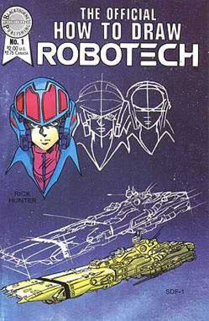 How to Draw Robotech 1