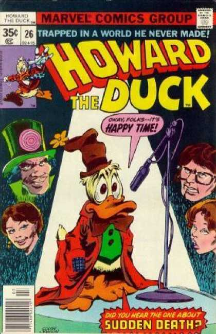 Howard the Duck 26 - Marvel Comics Group - Howard - Duck - Stand Up - Sudden Death - Gene Colan