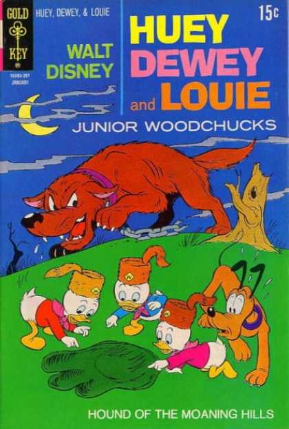 Huey, Dewey and Louie: Junior Woodchucks 12
