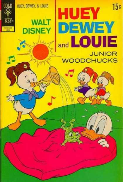 Huey, Dewey and Louie: Junior Woodchucks 14 - Walt Disney - Hueydeweyu0026 Louie - Sun - Singing - One Frog