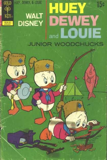 Huey, Dewey and Louie: Junior Woodchucks 18