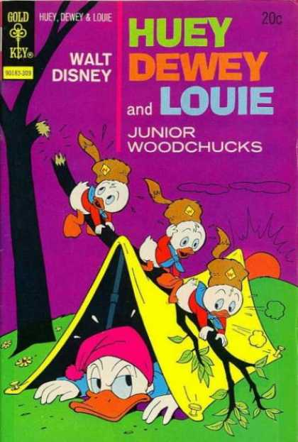 Huey, Dewey and Louie: Junior Woodchucks 22