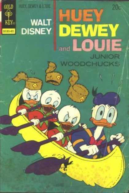 Huey, Dewey and Louie: Junior Woodchucks 24