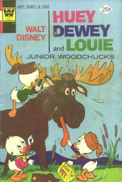 Huey, Dewey and Louie: Junior Woodchucks 29