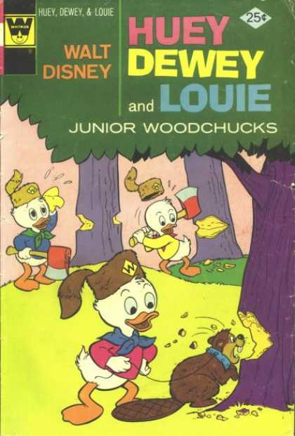 Huey, Dewey and Louie: Junior Woodchucks 30