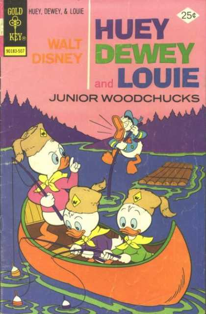 Huey, Dewey and Louie: Junior Woodchucks 33 - Disney - Kids - Donald Duck - Series - Vintage