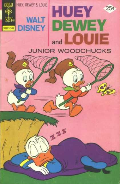 Huey, Dewey and Louie: Junior Woodchucks 34