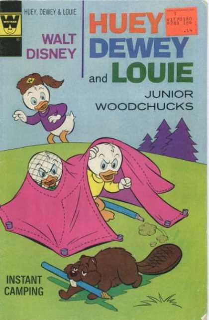 Huey, Dewey and Louie: Junior Woodchucks 36 - Disney - Trees - Camping Tent - Beaver - Instant Camping