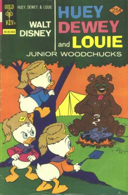 Huey, Dewey and Louie: Junior Woodchucks 37