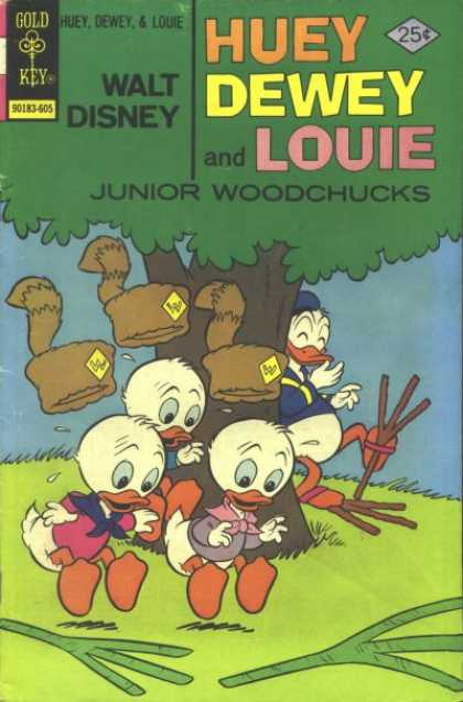 Huey, Dewey and Louie: Junior Woodchucks 38 - Funnt - Boy Scouts - Camping - Funny - Joke