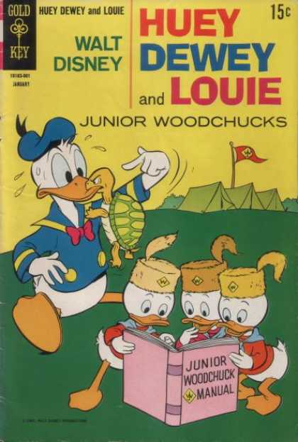 Huey, Dewey and Louie: Junior Woodchucks 4 - Walt Disney - Camping - Turtle - Tents - Manual