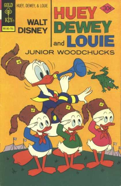 Huey, Dewey and Louie: Junior Woodchucks 42