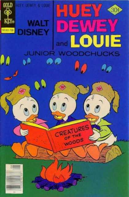 Huey, Dewey and Louie: Junior Woodchucks 45