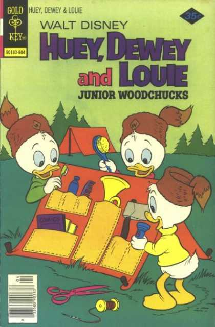 Huey, Dewey and Louie: Junior Woodchucks 49