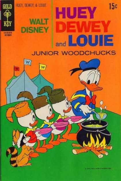 Huey, Dewey and Louie: Junior Woodchucks 7