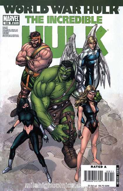 Hulk (2000) 109 - World War - Wings - Feathers - Soldiers - Girl - Gary Frank
