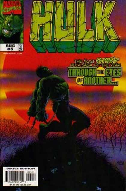 Hulk (2000) 5 - Marvel Comics - Aug 5 - Throught The Eyes Of Another - Mutant - Superhero
