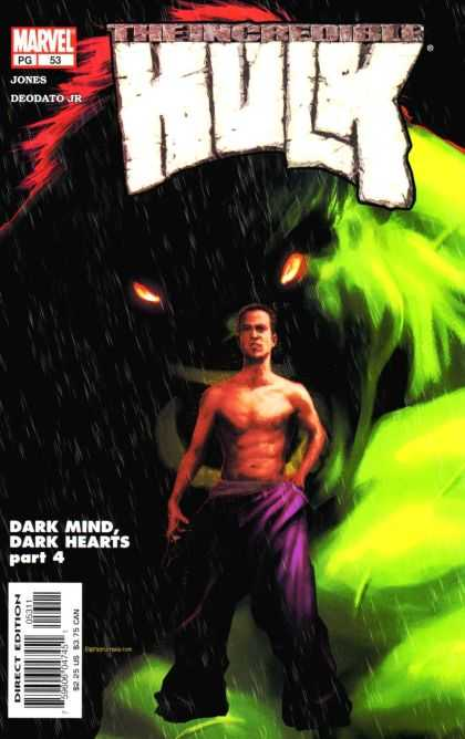 Hulk (2000) 53 - Dark Mind - Dark Hearts - Marvel - Jones - Deodato Jr