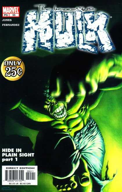Hulk (2000) 55 - Incredible Hulk - Jones Fernandez - Marvel Pg 55 - Hide In Plain Sight - Direct Edition