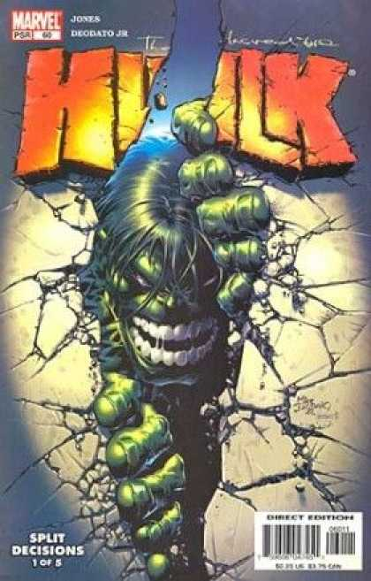 Hulk (2000) 60 - Marvel - Jones - Split Decisions - Direct Edition - Psr - Deodato Fiho
