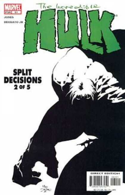 Hulk (2000) 61 - Split Decisions - Marvel - 2 Of 5 - Black And White Cover - Shadow Hulk - Deodato Fiho