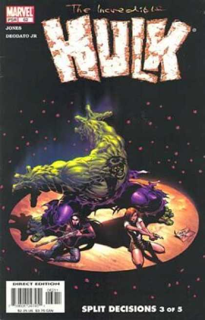 Hulk (2000) 62 - Sd 3 Of 5 - The Hulk - Mean Green - Hulk In Space - Hulk With Babes - Deodato Fiho