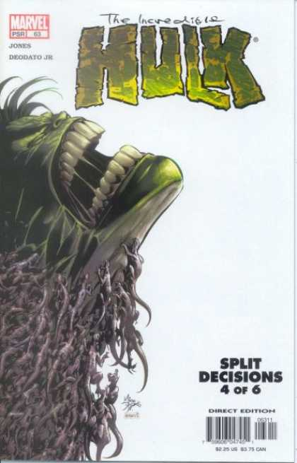 Hulk (2000) 63 - The Incredible - Split Decisions 4 Of 6 - Monster - Big Teeth - Jones Deodato Jr - Deodato Fiho