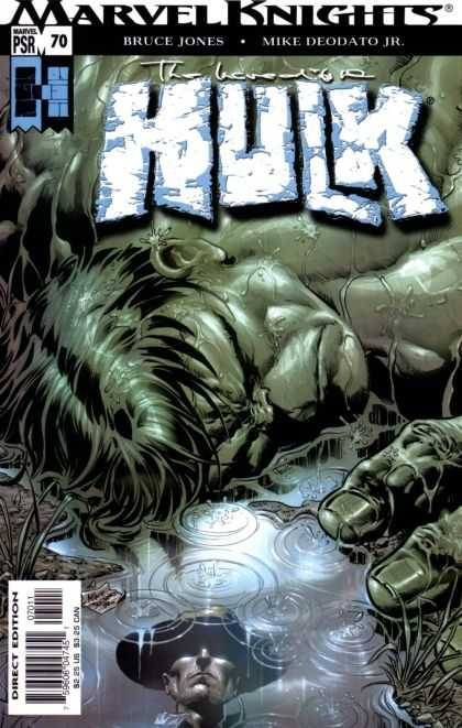 Hulk (2000) 70 - Marvel Knights - Bruce Jones - Marvel - Mike Deodato Jr - Direct Edition - Deodato Fiho