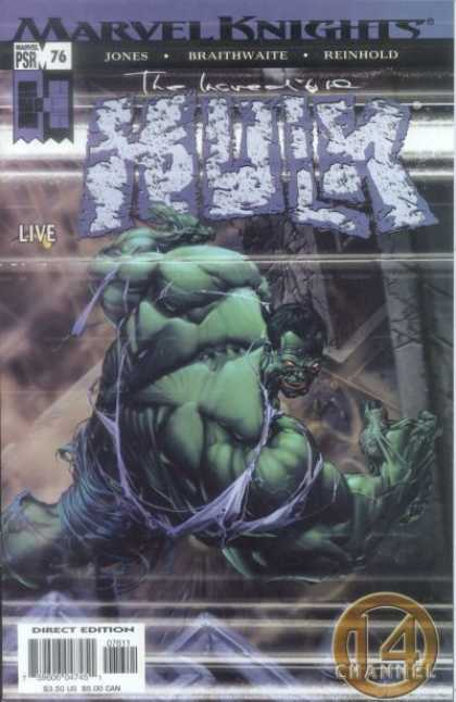 Hulk (2000) 76 - Marvel Knights - Incredible - Hulk - Channel 14 - Psr 76 - Clayton Crain