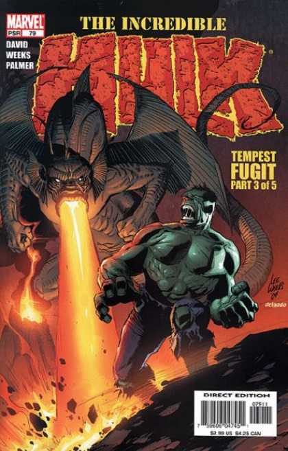 Hulk (2000) 79 - David - Weeks - Palmer - Tempest Fugit - Fire