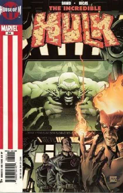 Hulk (2000) 84 - Incredible - David Lucas - House Of M - Marvel - Man