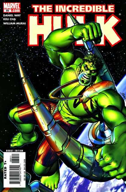 Hulk (2000) 89 - The Hulk - Oxygen Mask - Space - Punch - Horn - Brandon Peterson