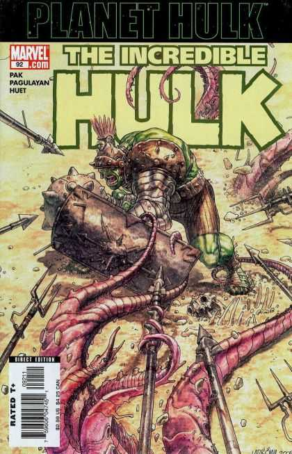 Hulk (2000) 92 - Spear - Pak - Pagulayan - Huet - Shield - Jose Ladronn