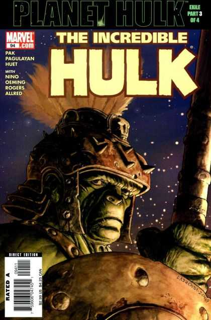Hulk (2000) 94 - Planet Hulk - Night - Nino Oeming - Rogers Allred - Pal Pagulayan - Jose Ladronn