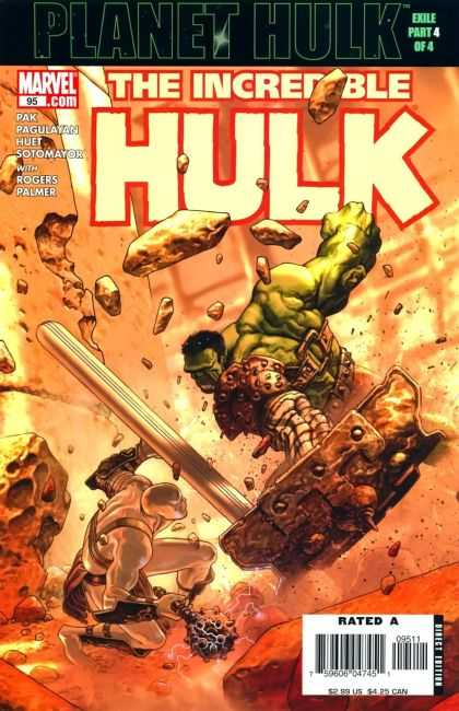 Hulk (2000) 95 - Exile Part 4 Of 4 - Green Monster - Rogers Palmer - Marvel - Pak Pagulayan Huet Sotomayok - Jose Ladronn
