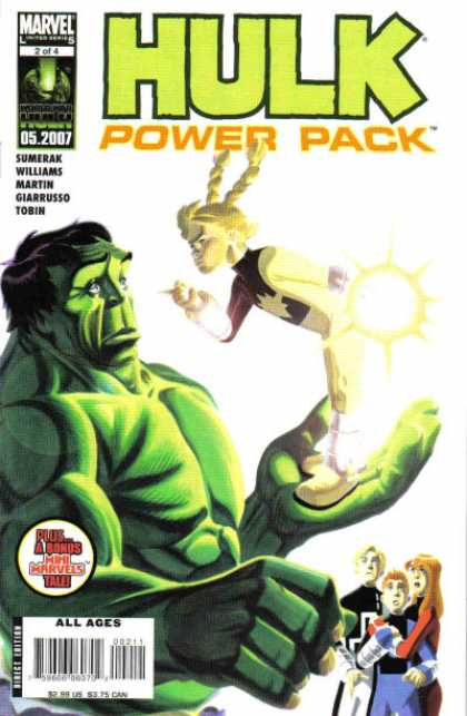 Hulk and Power Pack 2 - Hulk - Marvel - 52007 - 2007 - Power Pack