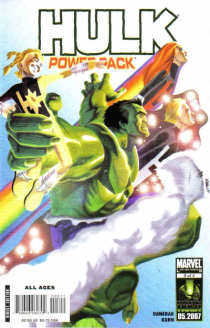 Hulk and Power Pack 3