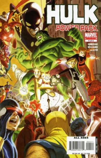 Hulk and Power Pack 4 - Hulk Power Pack 44 - Marvel - Iron Man - X-men - Spiderman